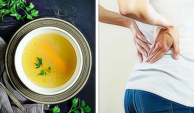 Un caldo dorado para combatir la inflamación y el dolor
