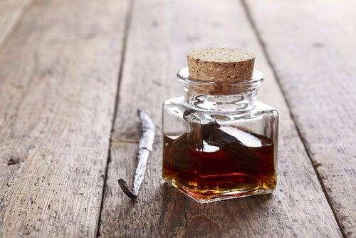 Perfume natural de vainilla