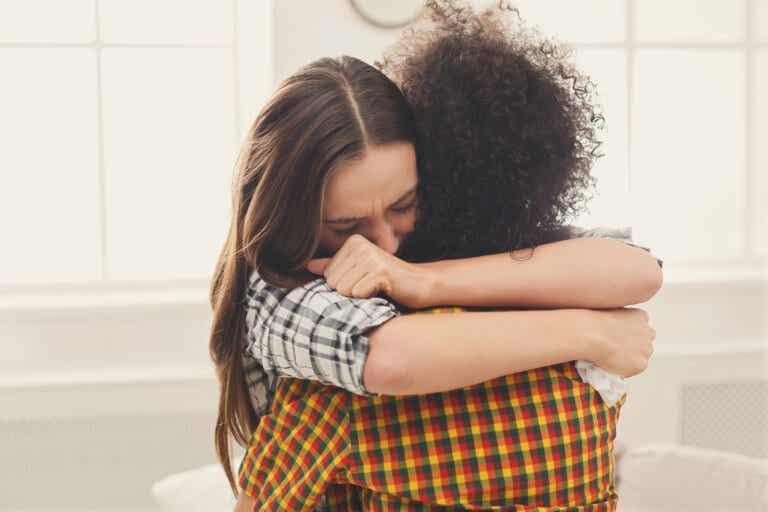 Un abrazo en el momento indicado, no tiene precio
