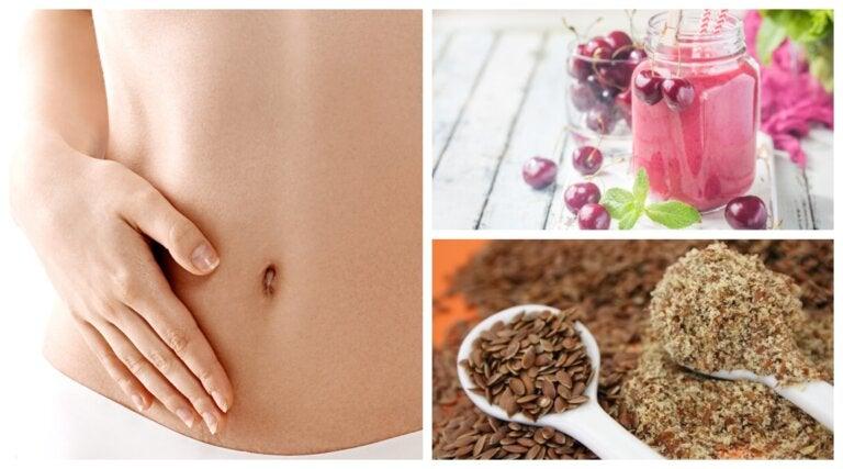 8 alimentos para deshinchar el abdomen