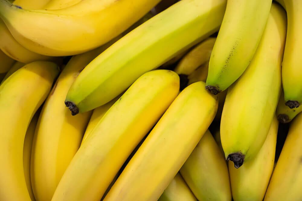 Bananas amarillas.
