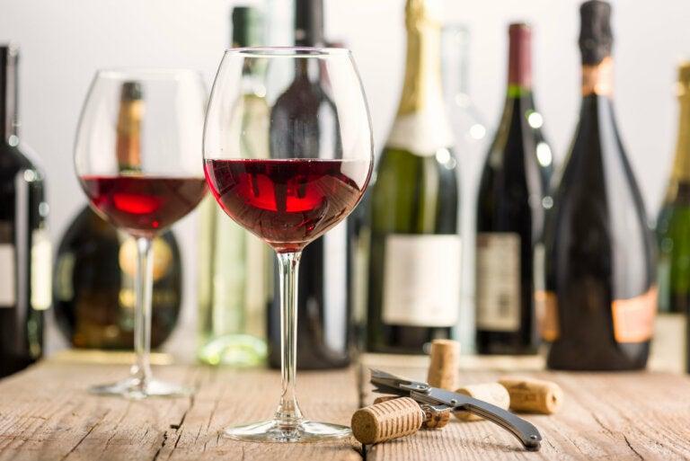 8 beneficios de tomar vino tinto
