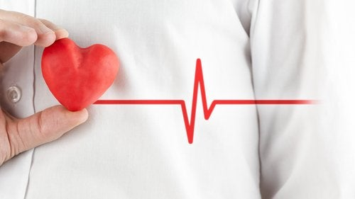 corazón que puede sufrir un ataque de ansiedad