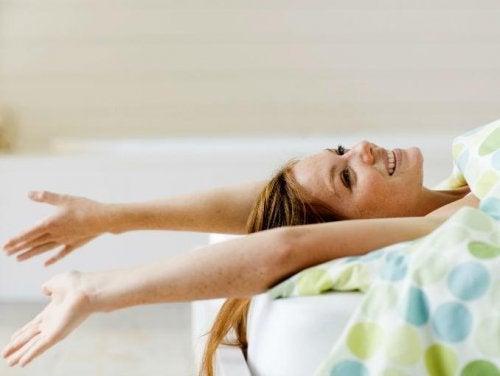 ejercicios que hacer en tu cama