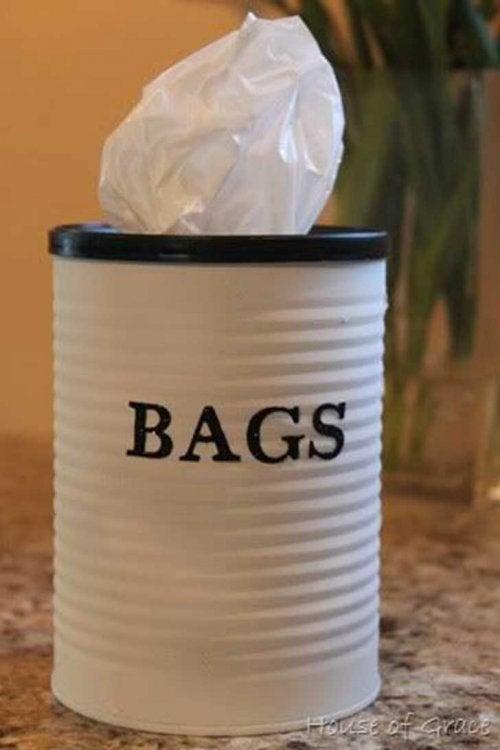 Plastiktüten Recycling