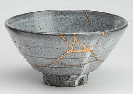 A ceramic pot.