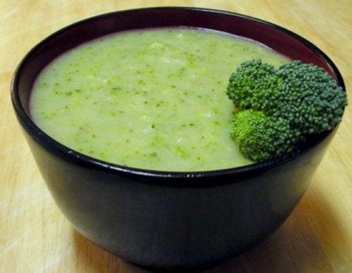 crema de verduras eliminar dolor