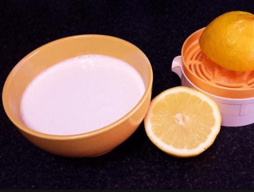 tratamiento leche y limon