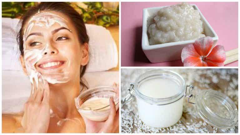 4 usos cosméticos del arroz que no conocías