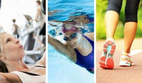 5 ejercicios sencillos para tener un cuerpo sano