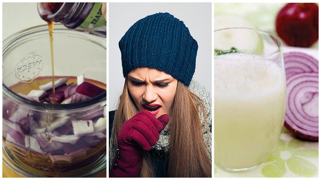 5 remedios caseros con cebolla para aliviar la tos