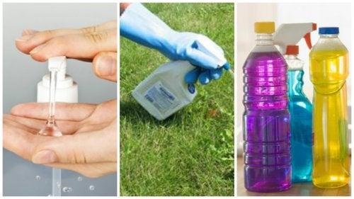6 productos para el hogar que pueden afectar la salud