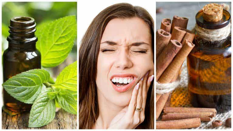 7 aceites esenciales para tratar el dolor de muelas y mejorar la salud bucal
