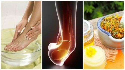 remedios caseros para el dolor de pies y tobillos