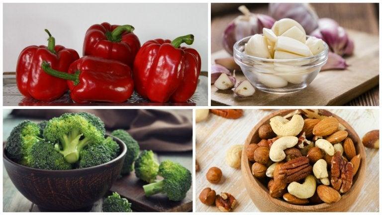 8 alimentos que son más saludables si se comen crudos