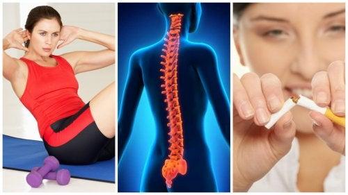 8 consejos para mantener la columna vertebral sana y fuerte