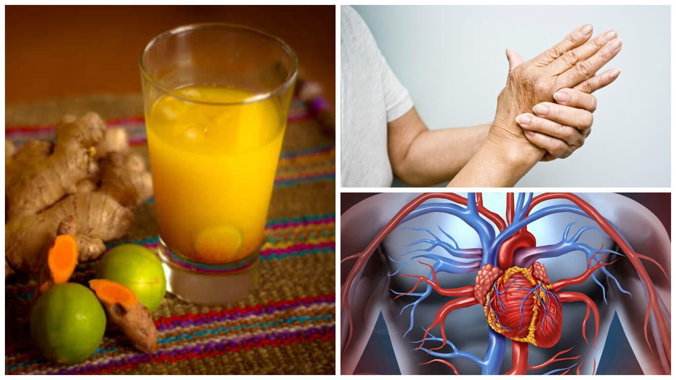 8 interesantes beneficios que obtienes cuando tomas jugo de cúrcuma