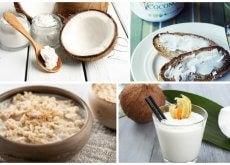 8 usos que le puedes dar al aceite de coco en tu cocina