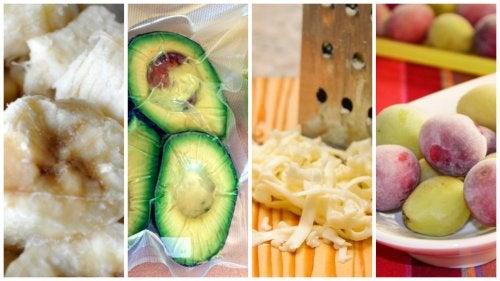 9 alimentos que no sabías que podías congelar
