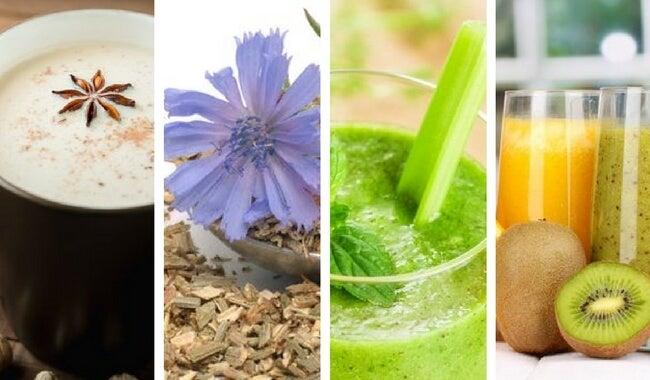 Bebidas saludables que nos ayudan a sustituir el café