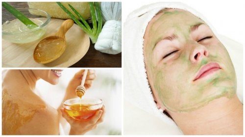 Cómo combatir el acné con una mascarilla de aloe vera y miel