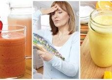 Cómo combatir los sofocos de la menopausia con 5 deliciosos licuados naturales