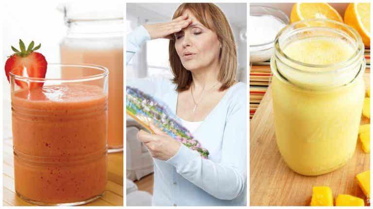 Combatir los sofocos de la menopausia con 4 licuados naturales