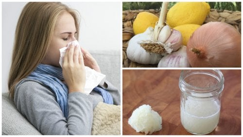 Cebolla para aliviar la tos, la gripe y las alergias
