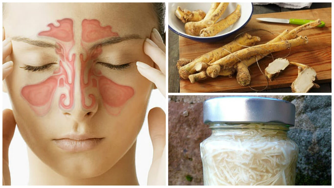 Combate la sinusitis con este remedio de rábano picante y vinagre blanco
