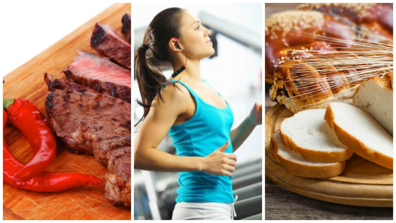Conoce 8 alimentos que debes evitar antes de tu entrenamiento físico