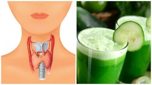 Cuida tu salud tiroidea con este delicioso jugo multivitamínico