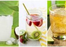 Limpia tu cuerpo y pierde peso con estas 5 aguas detox