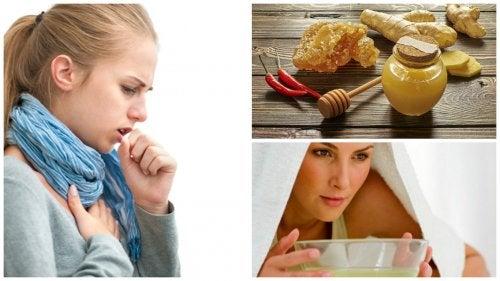 5 expectorantes caseros para calmar la tos