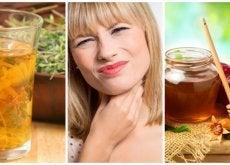 Los 6 mejores remedios naturales para aliviar las amígdalas inflamadas