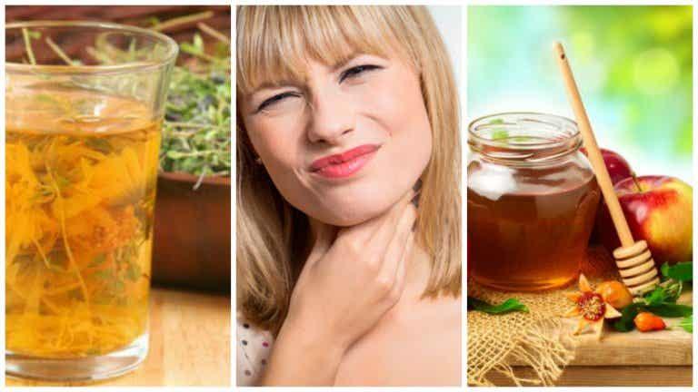 6 remedios naturales para aliviar el dolor por inflamación de amígdalas