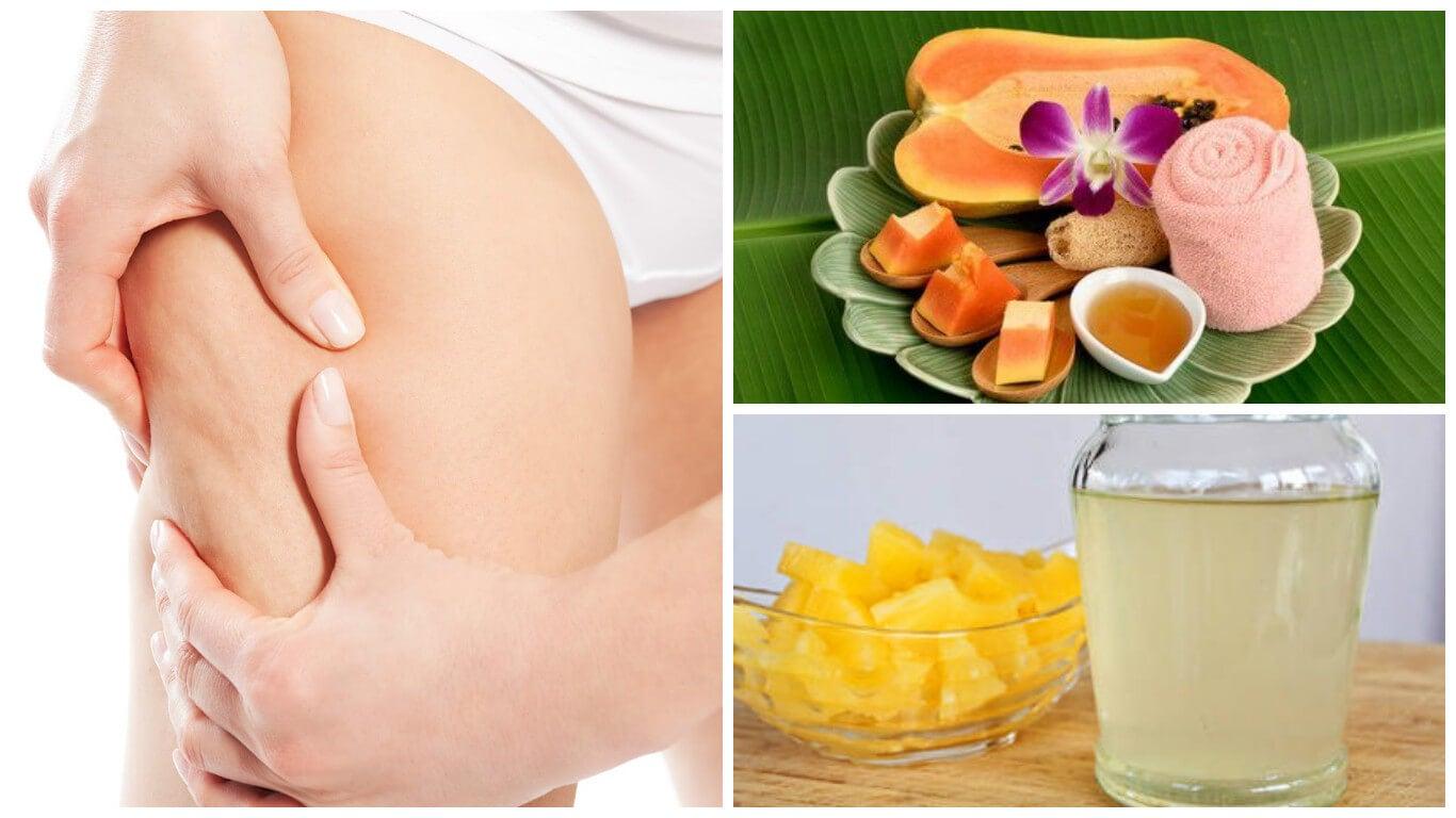 Minimiza el aspecto de la celulitis con estos 5 remedios naturales
