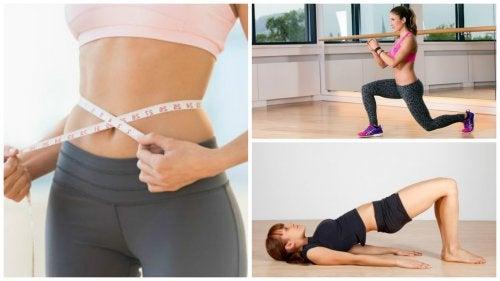 ¿Quieres reducir centímetros de tu cintura? No dejes de practicar estos ejercicios