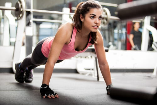 Flexiones de brazos para tonificar y bajar de peso