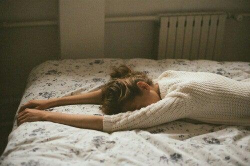no llorar: mujer insatisfecha