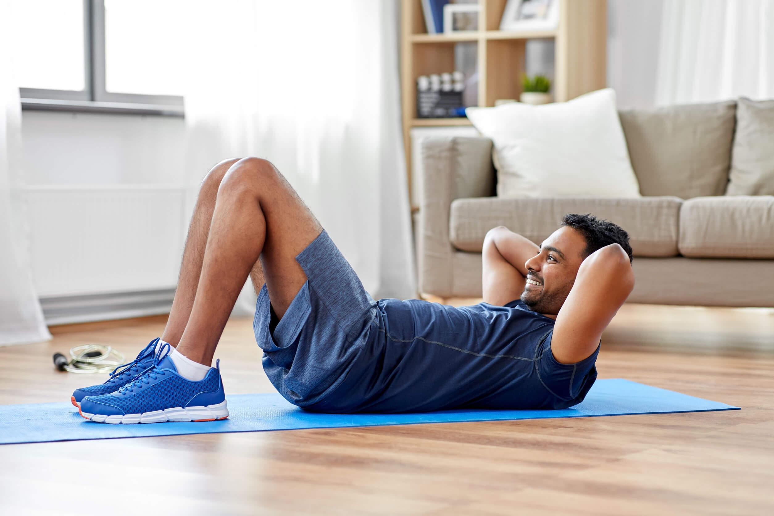 El hábito de comer harinas por la noche puede solucionarse con un poco de ejercicio al día.
