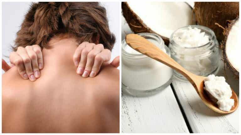 Alivia los dolores musculares con esta pomada antiinflamatoria de aceite de coco