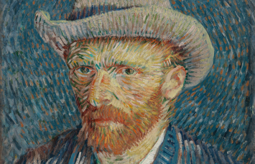 The famous painter Vincent Van Gogh