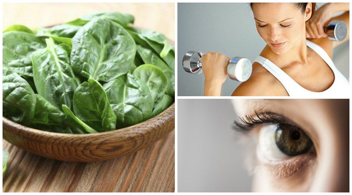 10 maravillosas razones por las que debes incluir espinacas en tu dieta