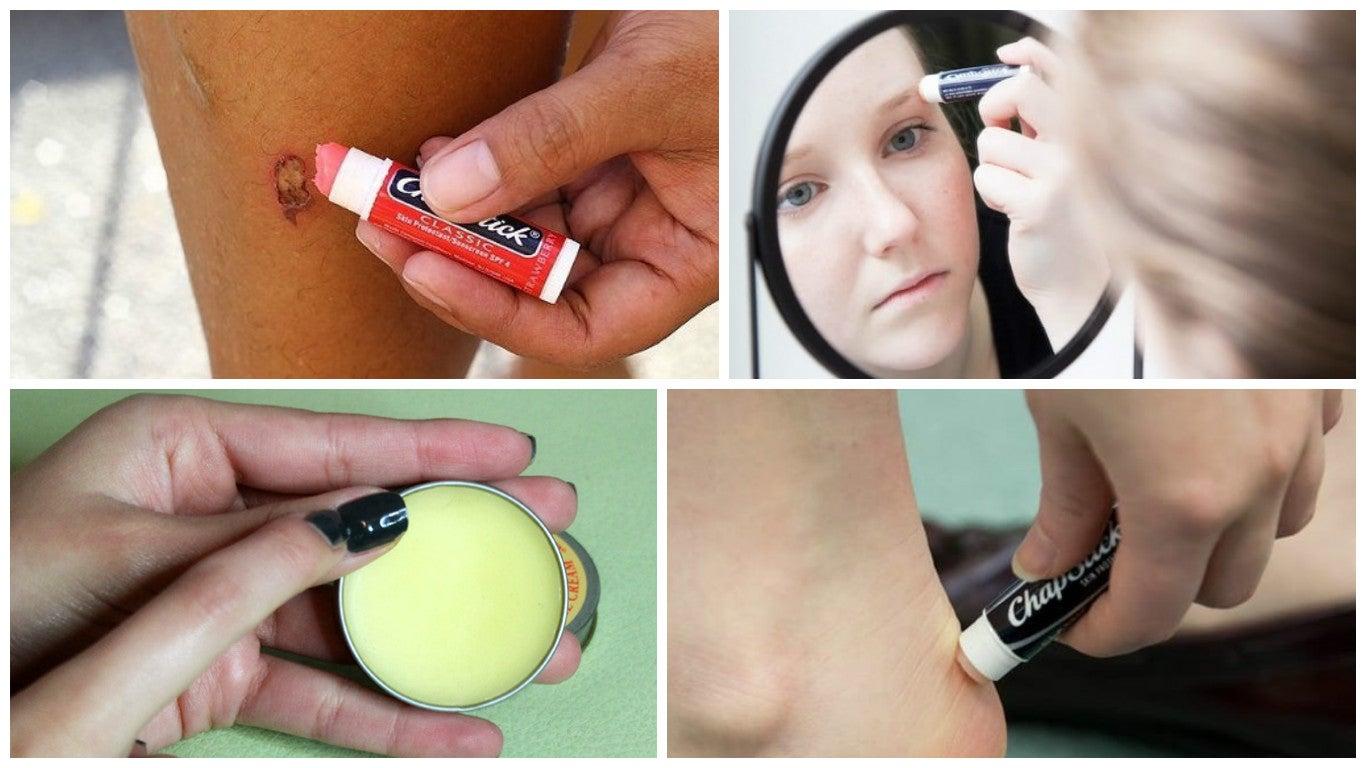 10 usos alternativos del bálsamo labial que te gustará conocer
