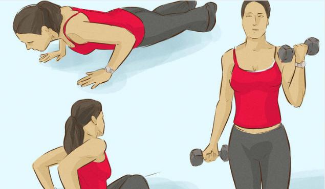 3 ejercicios para fortalecer los músculos de tus brazos - Mejor con ...