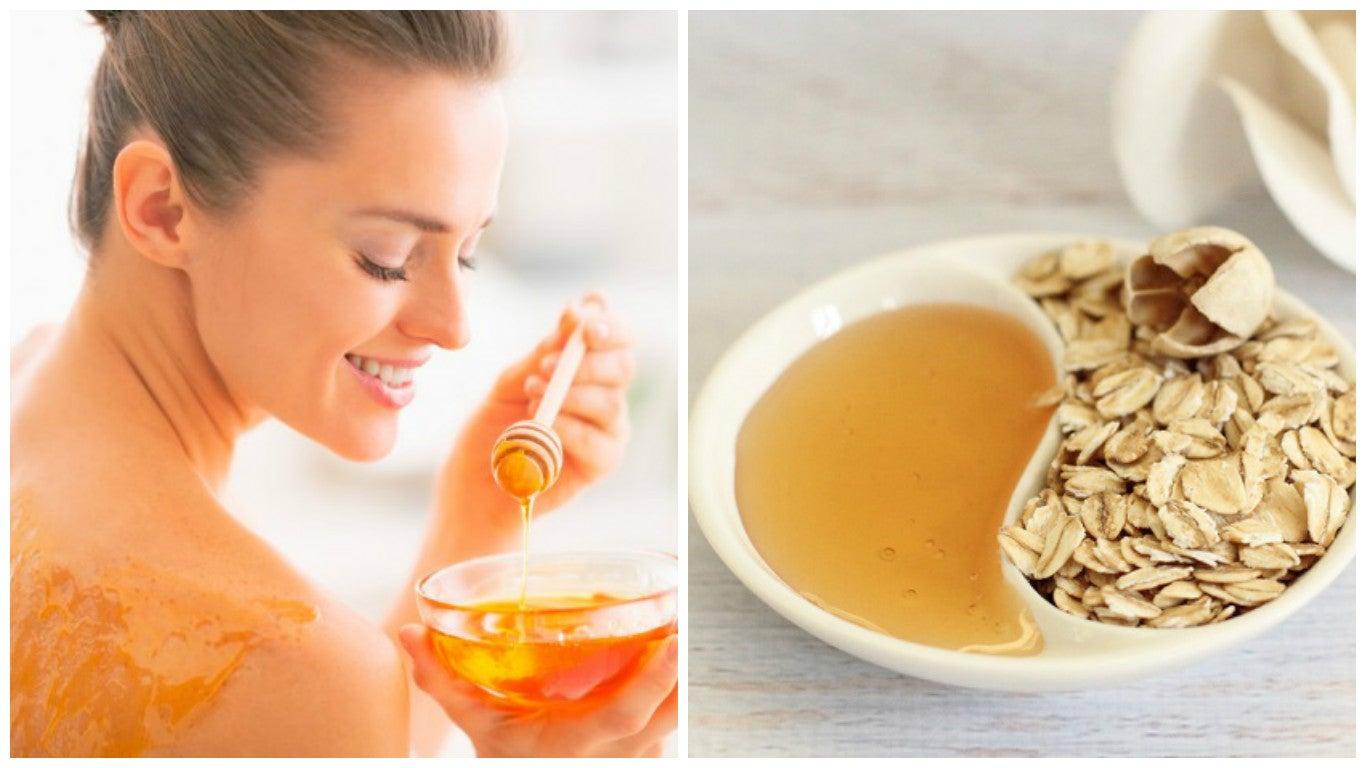 la miel como exfoliante natural