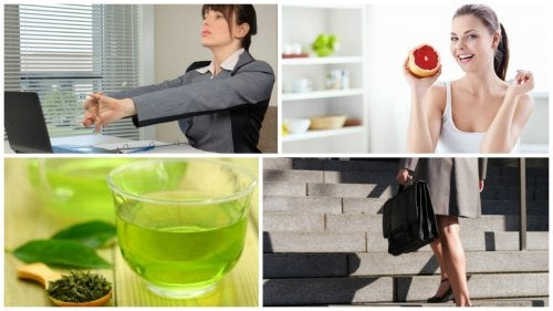 6 cosas que puedes hacer para quemar más calorías durante tu jornada laboral
