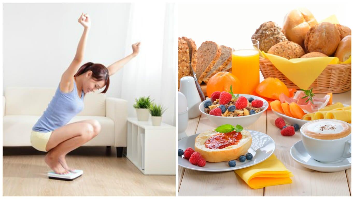 6 reglas que no debes romper si quieres perder peso con el desayuno