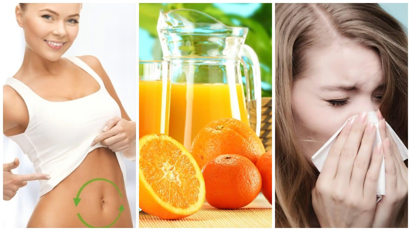 8 beneficios que obtienes cuando tomas zumo de naranja todos los días