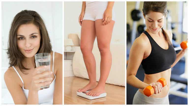 8 hábitos que debes adoptar si estás tratando de perder peso